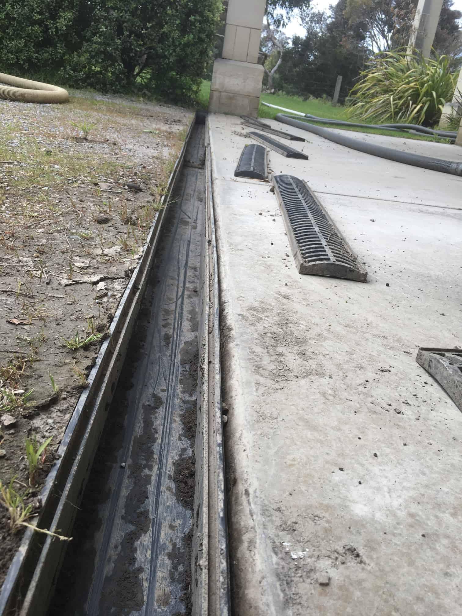 Clean Driveway Drains